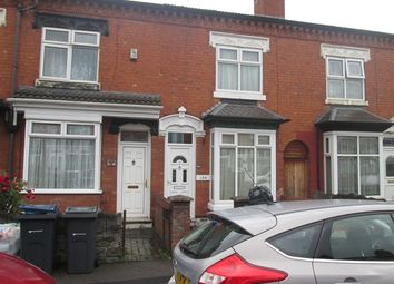 Thumbnail 3 bedroom terraced house for sale in Knowle Road, Sparkhill, Birmingham