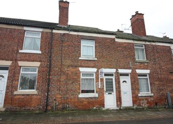 Thumbnail 2 bedroom terraced house for sale in Cross Row, Stanton Hill, Sutton-In-Ashfield