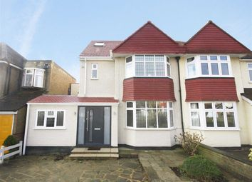 Thumbnail 4 bed semi-detached house for sale in Vallis Way, Chessington