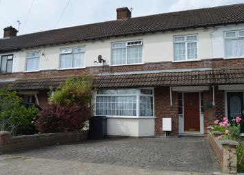 Thumbnail 3 bed terraced house to rent in Harold Court Road, Harold Wood, Romford