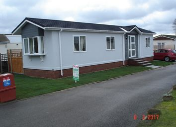 Thumbnail 2 bedroom mobile/park home for sale in Newton Park Homes, Newton St. Faith, Norwich