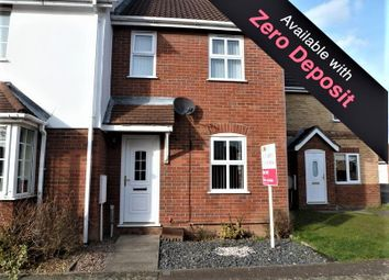 Thumbnail 2 bed terraced house to rent in Heron Road, Wisbech, Cambs