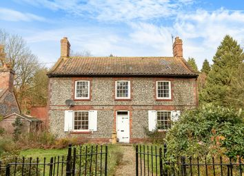 Thumbnail 3 bed detached house for sale in Holt Road, Aylmerton, Norwich