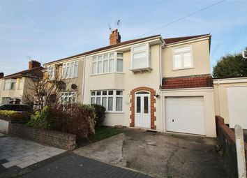 Thumbnail 4 bedroom semi-detached house for sale in Frome Valley Road, Stapleton, Bristol