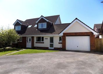 Thumbnail 4 bed detached house for sale in Brackla Way, Brackla, Bridgend.