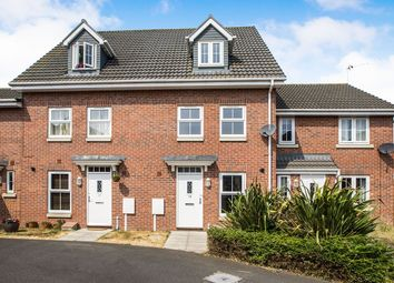 Thumbnail 3 bed terraced house to rent in Brutus Court, North Hykeham, Lincoln