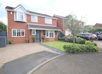 Thumbnail 4 bed detached house for sale in Oban Grove, Fearnhead, Warrington