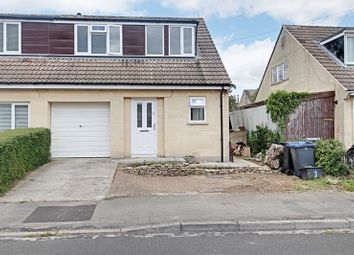 Thumbnail 3 bed semi-detached house for sale in Downs Close, Bradford-On-Avon