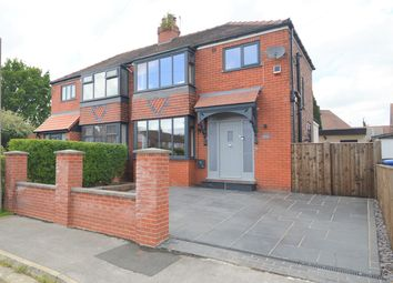 Thumbnail 3 bed semi-detached house for sale in Ross Avenue, Davenport, Stockport