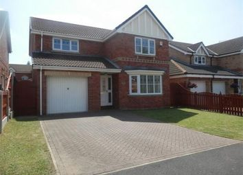 Thumbnail 4 bed detached house to rent in Shuttleworth Close, Rossington, Doncaster
