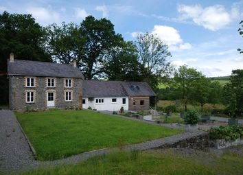 Thumbnail 4 bed country house for sale in Llanwrda, Carmarthenshire, West Wales