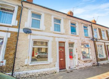 Thumbnail 3 bed terraced house for sale in Treharris Street, Roath, Cardiff