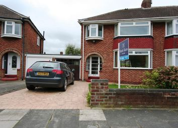 Thumbnail 3 bed semi-detached house for sale in The Oval, Brookfield, Middlesbrough