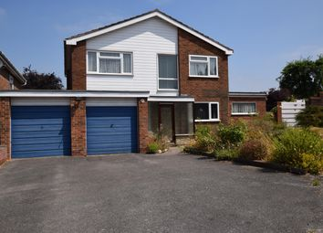 Thumbnail 4 bedroom detached house for sale in Chantry Heath Crescent, Knowle, Solihull