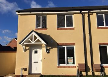 Thumbnail 2 bedroom semi-detached house for sale in Plot 26 - Tillhouse Road, Cranbrook, Devon
