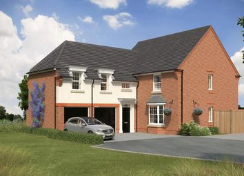 """Thumbnail 5 bed detached house for sale in """"Oulton"""" at Stonnyland Drive, Lichfield"""