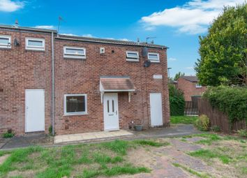 Thumbnail 2 bedroom end terrace house for sale in Holts Close, Leicester