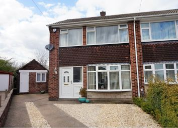 Thumbnail 3 bed semi-detached house for sale in Dirleton Drive, Doncaster