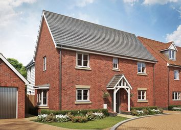 "Thumbnail 4 bed detached house for sale in ""The Copwood "" at Ostrich Street, Stanway, Colchester"