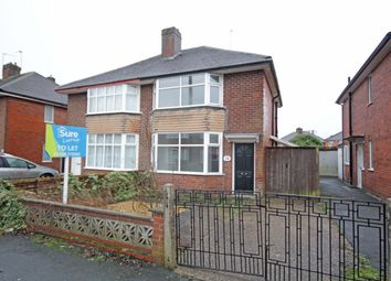 Thumbnail 3 bed semi-detached house to rent in Stenson Avenue, Sunnyhill, Derby