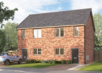 "Thumbnail 2 bed semi-detached house for sale in ""The Bambridge"" at Ward Road, Clipstone Village, Mansfield"