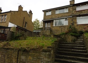 Thumbnail 3 bedroom semi-detached house for sale in Almondbury Bank, Almondbury, Huddersfield