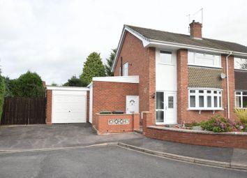 Thumbnail 3 bed semi-detached house to rent in Vicarage Crescent, Batchley, Redditch