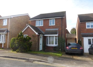 Thumbnail 3 bedroom detached house for sale in St Albans Close, Flitwick, Bedford