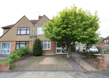 Thumbnail 3 bed semi-detached house to rent in Clovelly Avenue, Ickenham
