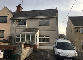Thumbnail 3 bedroom semi-detached house for sale in Alltywerin, Pontardawe, Swansea.