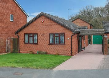 Thumbnail 2 bed detached bungalow for sale in Poplar Close, Catshill, Bromsgrove