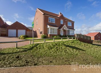 Thumbnail 5 bed detached house to rent in Wheelwright Drive, Eccleshall, Staffordshire