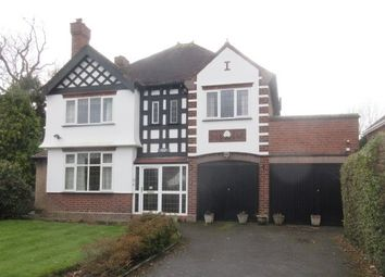 Thumbnail 4 bedroom detached house for sale in Keepers Lane, Wolverhampton