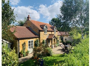 Thumbnail 4 bed cottage for sale in Church Lane, Caythorpe, Grantham