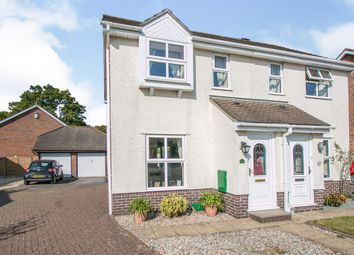 2 bed semi-detached house for sale in Hadrian Way, Corfe Mullen, Wimborne BH21