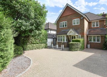Thumbnail 4 bed detached house to rent in Wellington Avenue, Virginia Water, Surrey