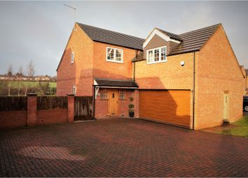 Thumbnail 4 bed detached house for sale in Meadow View, Selston, Nottingham