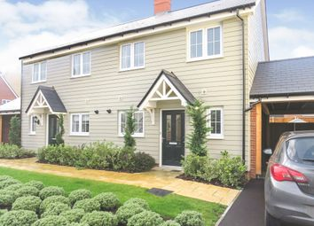 Thumbnail 3 bed semi-detached house for sale in Hedgecock Link, Broomfield, Chelmsford