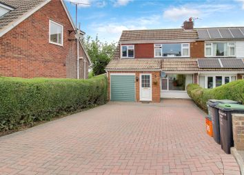 Thumbnail 4 bed semi-detached house for sale in Henley Drive, Highworth, Wiltshire