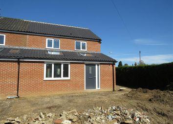 Thumbnail 3 bedroom end terrace house for sale in Holt Road, Fakenham