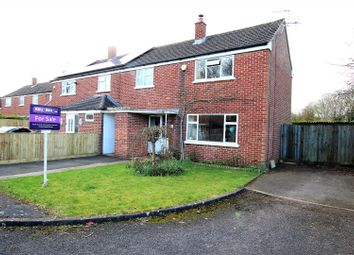 Thumbnail 3 bed semi-detached house for sale in Woodcote Road, Bicester