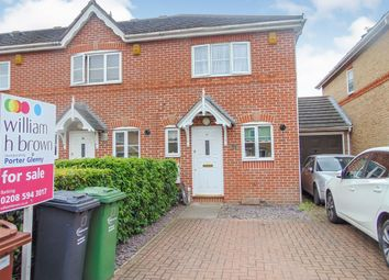Thumbnail 2 bed end terrace house for sale in Stern Close, Barking