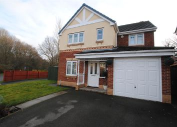 Thumbnail 4 bed detached house for sale in Whitchurch Close, Padgate, Warrington