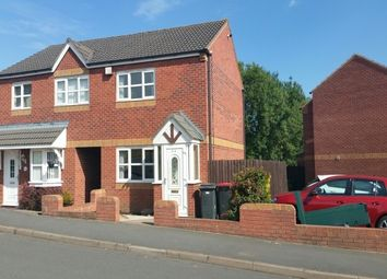 Thumbnail 2 bed property to rent in Newlands Road, Baddesley Ensor, Atherstone