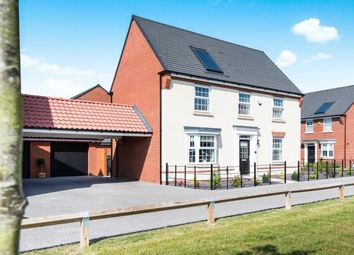 Thumbnail 4 bedroom detached house for sale in Horsford, Norwich, Norfolk
