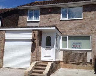 Thumbnail 3 bed semi-detached house to rent in Canefields Avenue, Plymouth, Devon