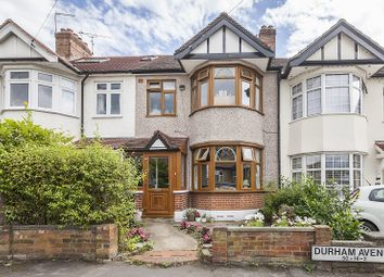 Thumbnail 4 bedroom terraced house for sale in Durham Avenue, Woodford Green, Essex.