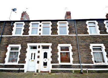 Thumbnail 3 bed terraced house for sale in Spring Gardens Terrace, Splott, Cardiff