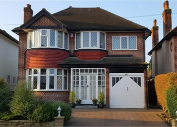 Thumbnail 4 bed detached house for sale in Carleton Avenue, Wallington, Surrey