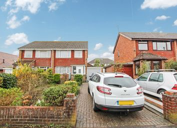 Thumbnail 3 bed semi-detached house for sale in Norham Close, Shirley, Southampton